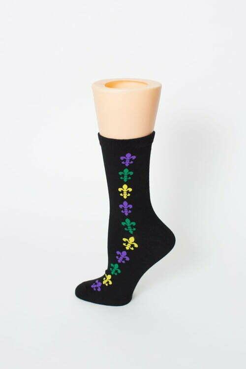 Women 9-11 Black FDL sock