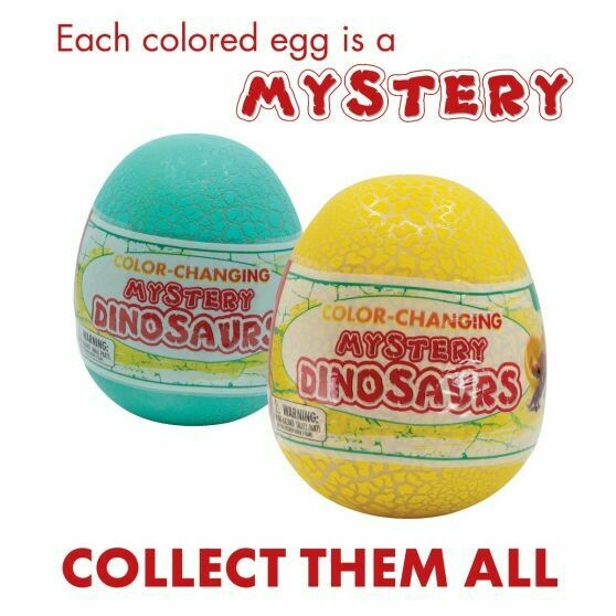 Color-Changing Mystery Dinosaurs