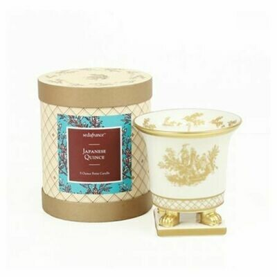 Seda France - Japanese Quince Petite Ceramic Candle