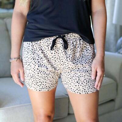 Cheetah Sleep Shorts (Small)