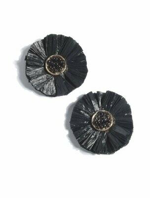 Shiraleah Augusta Black Earrings