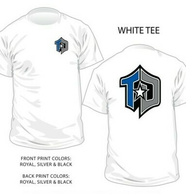 Shirt, Program Tee, White Classic