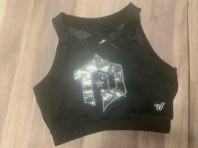 """Varsity """"TD Logo"""" Sports Bra"""