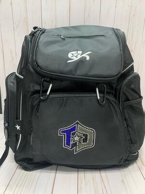 Backpack, GK, Black W.logo