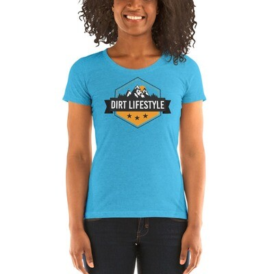 Dirt Lifestyle Official Logo Ladies' Short Sleeve T-Shirt
