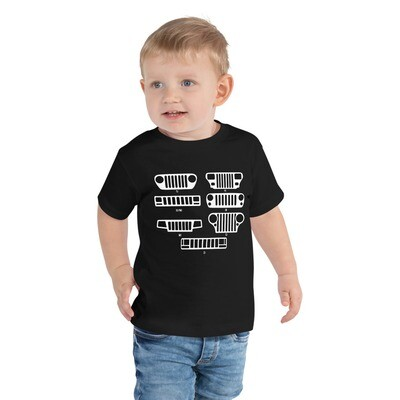 Jeep Grills Toddler Short Sleeve Tee