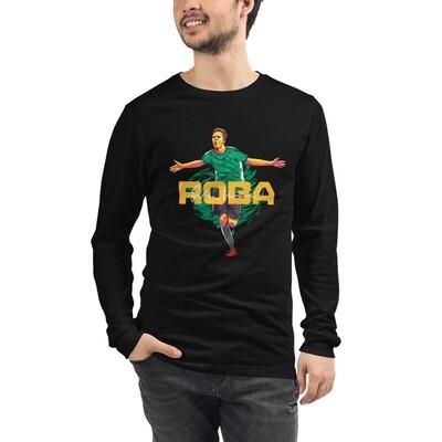 ROBA Green Fire Long Sleeve T-Shirt
