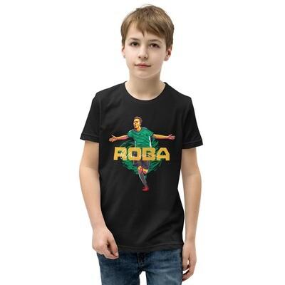 ROBA Green Fire Kids T-Shirt