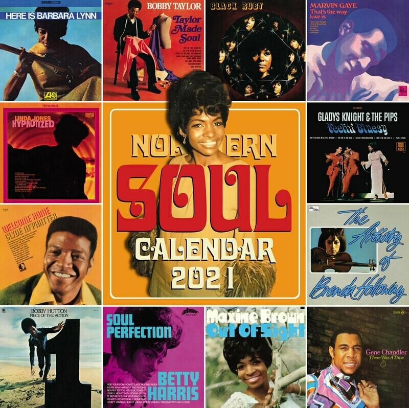Northern Soul Calendar 2021