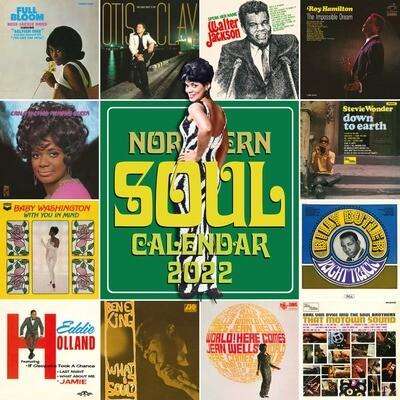 Northern Soul Calendar 2022 - Early Bird Offer