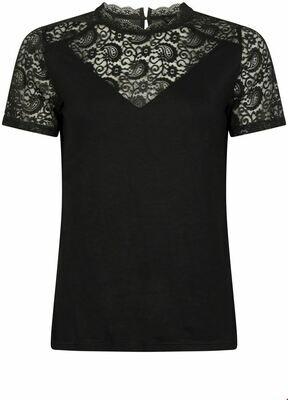 Geisha C18-401 Top lace/zwart
