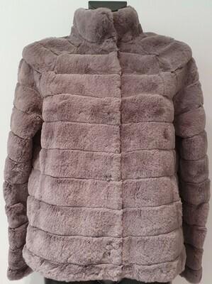 Rino & Pelle Lella faux fur/sh D/grey