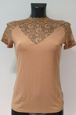 Geisha C18-401 Top lace/camel