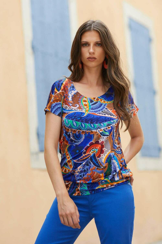 Blue IV Monroe-B T-shirt royal