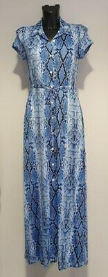 Batida 98430 Kleed/L blue/snake