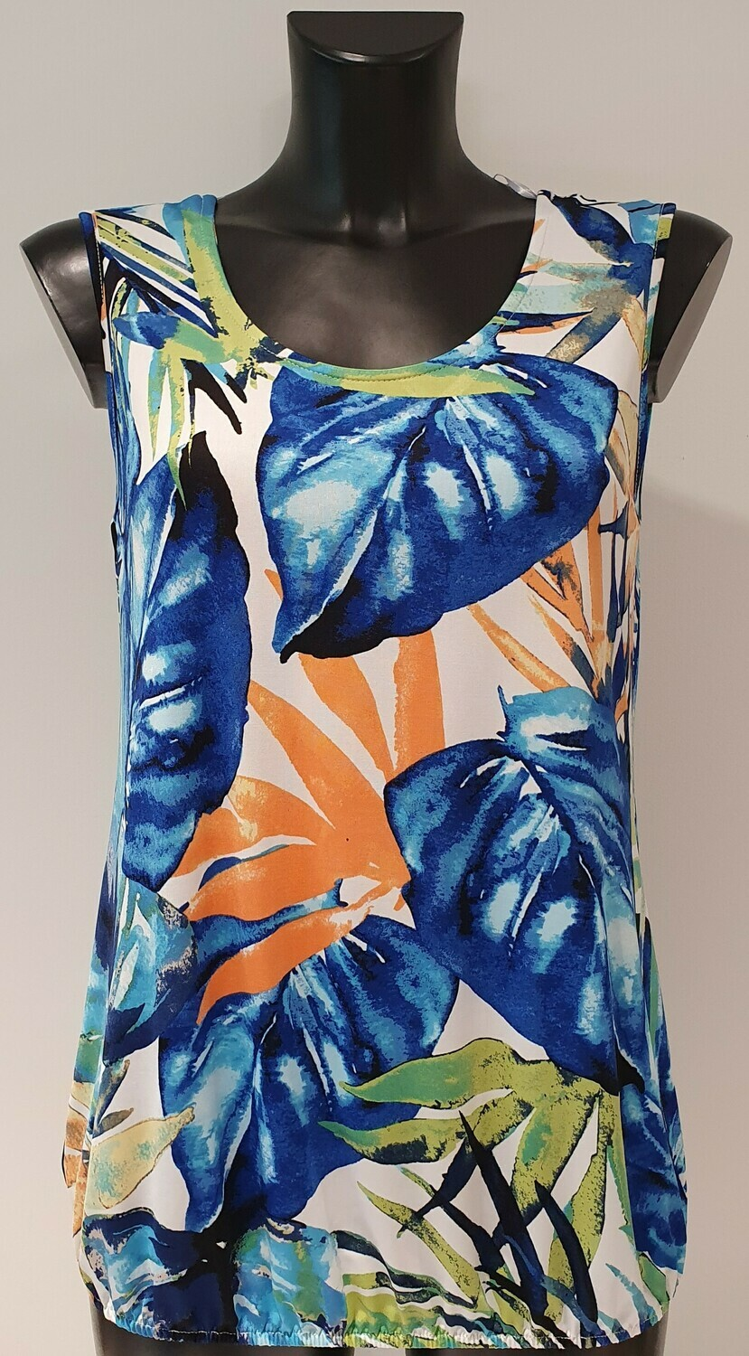 Batida 9019 Top Royal/leaves