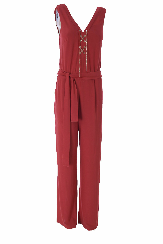 K-design N900 Jumpsuit red