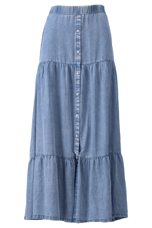 K-design Kleed S902 Rok blue jeans
