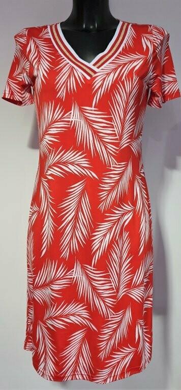 Batida 7682 Kleed red/palmtree