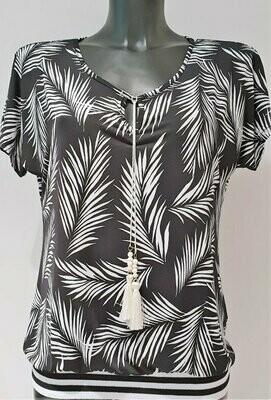 Batida 7660 T-shirt bla/palmtree