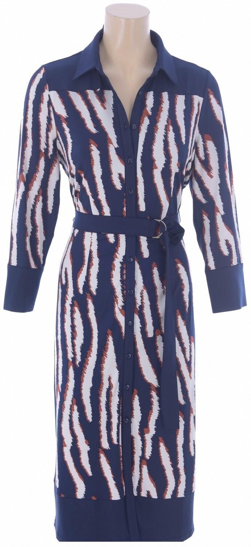 K-design R822 Kleed/M 923 blauw/roest