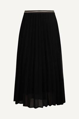 Geisha C25-96-201 Rok pli/zwart