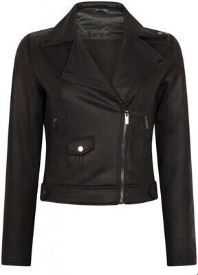 Geisha Q05-801 Biker PU/zwart