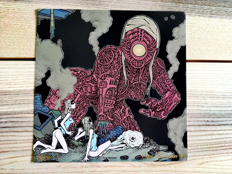 """Affiche """"Robot """" par H. Rikheit - numérotée et signée à 30 exemplaires"""