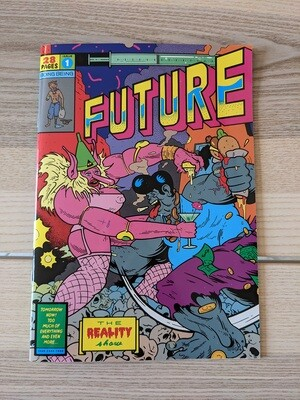 (langue anglaise) Future # 1 le fanzine de Tommi Musturi