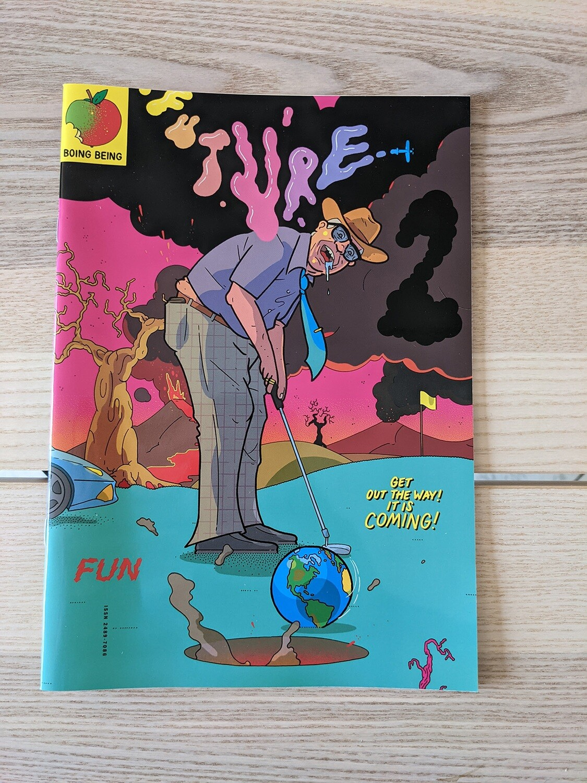 (langue anglaise) Future # 2 le fanzine de Tommi Musturi