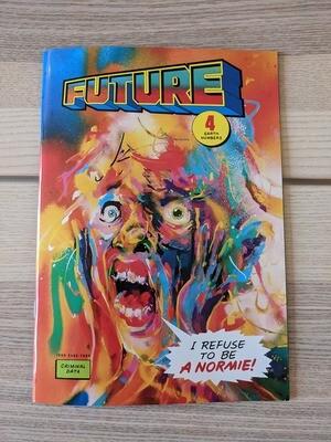 (langue anglaise) Future # 4 le fanzine de Tommi Musturi
