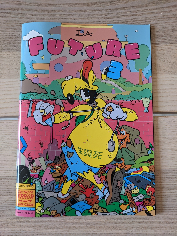 (langue anglaise ) Future # 3 le fanzine de Tommi Musturi