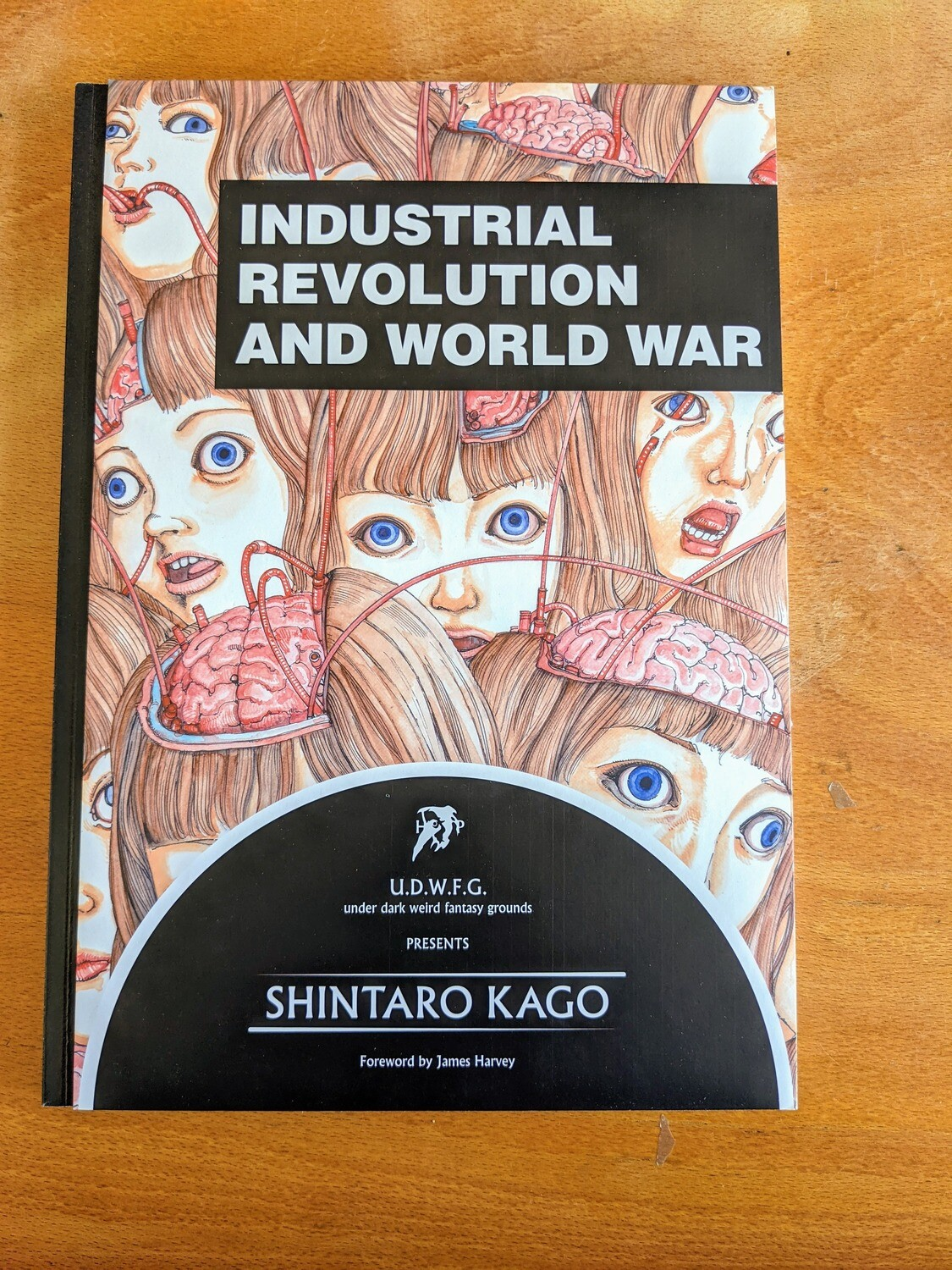 Industrial Revolution and World War par Shintaro Kago - Sans textes / Textless (limited edition 350 copies (digital printing))