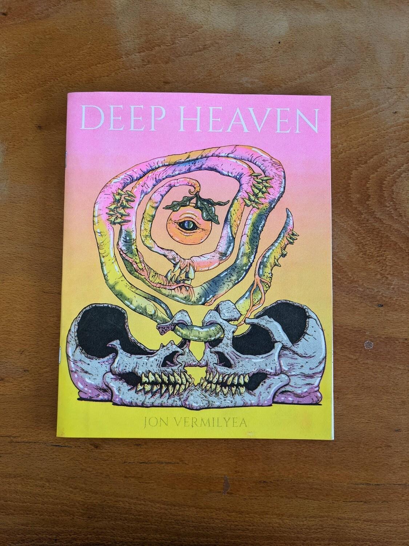 Deep Heaven par Jon Vermilyea - Artbook- Impression risographie