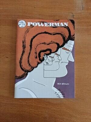 Powerman par Box Brown - Anglais/English
