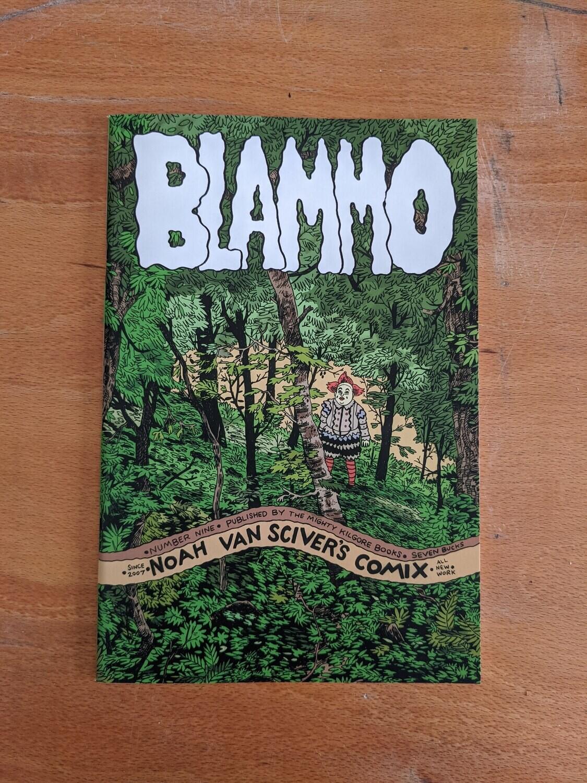 Blammo #9 par Noah Van Sciver - Anglais/English