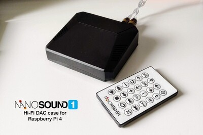 NanoSound ONE - Hi-Fi DAC Case for Raspberry Pi