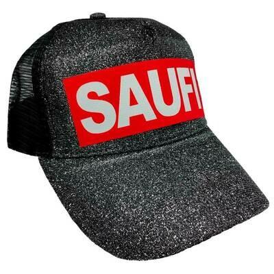 SAUFI Duo Color Truckercap im Glitzerlook (Verschiedene Farben)