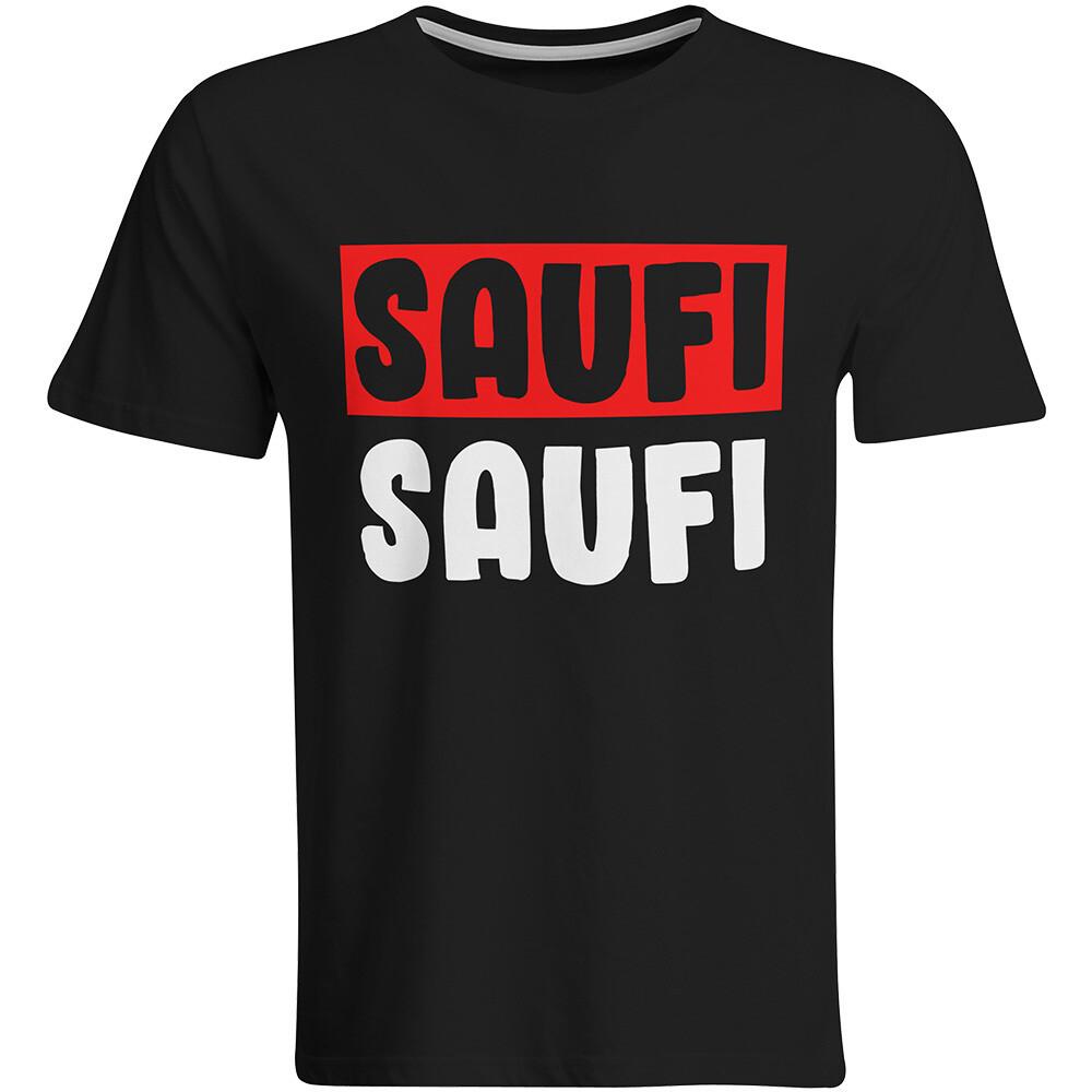 Saufi Saufi T-Shirt (Herren, Rundhals Ausschnitt)