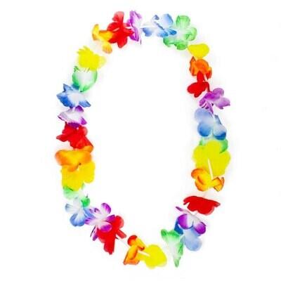 Hawaiikette (Blumenkette) für Partys