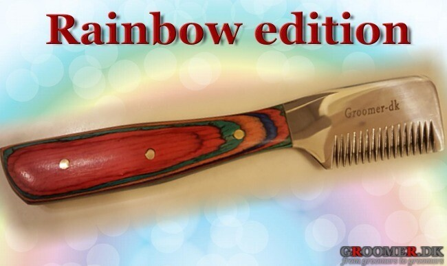 Danish RAINBOW edition knife - MEDIUM