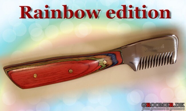 Danish RAINBOW edition knife - COARSE