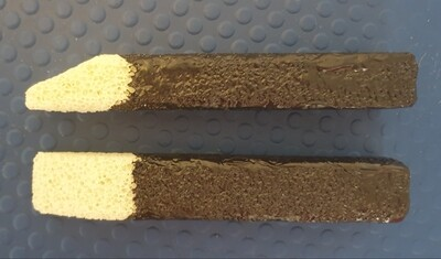 Stripping stick with cover