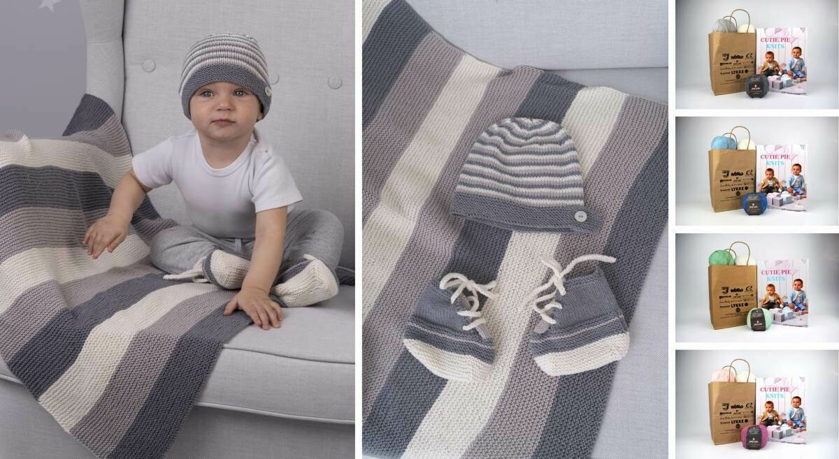 Ronnie Blanket, Trainer, & Hat Kit - A Gray