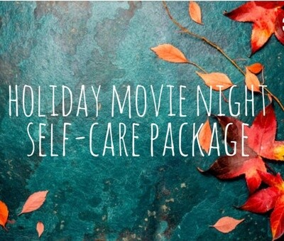 Holiday Movie Night Self-Care Package - Knitting
