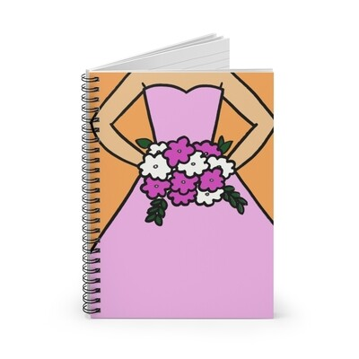 Bridesmaid Notebook (More Colors)