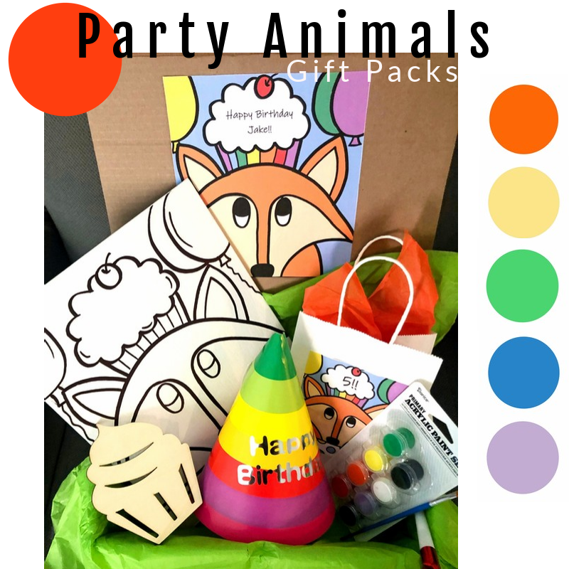 Party Animals Gift Packs