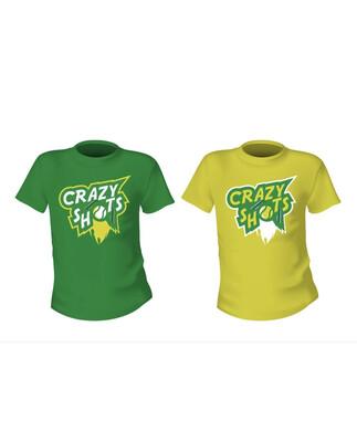 Crazy Shots Ladies Tennis Shirts