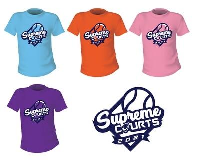 2021 Supreme Courts Team Shirts