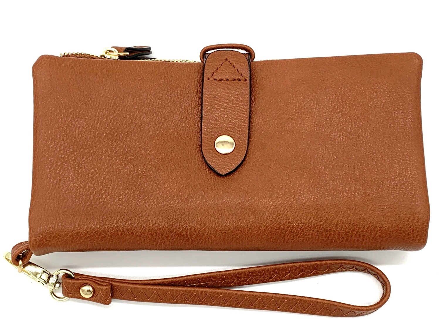 5268 Cell Phone Wristlet/Wallet camel